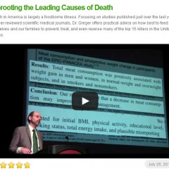A Plant Based Diet Can Help Prevent the Leading Causes of Death
